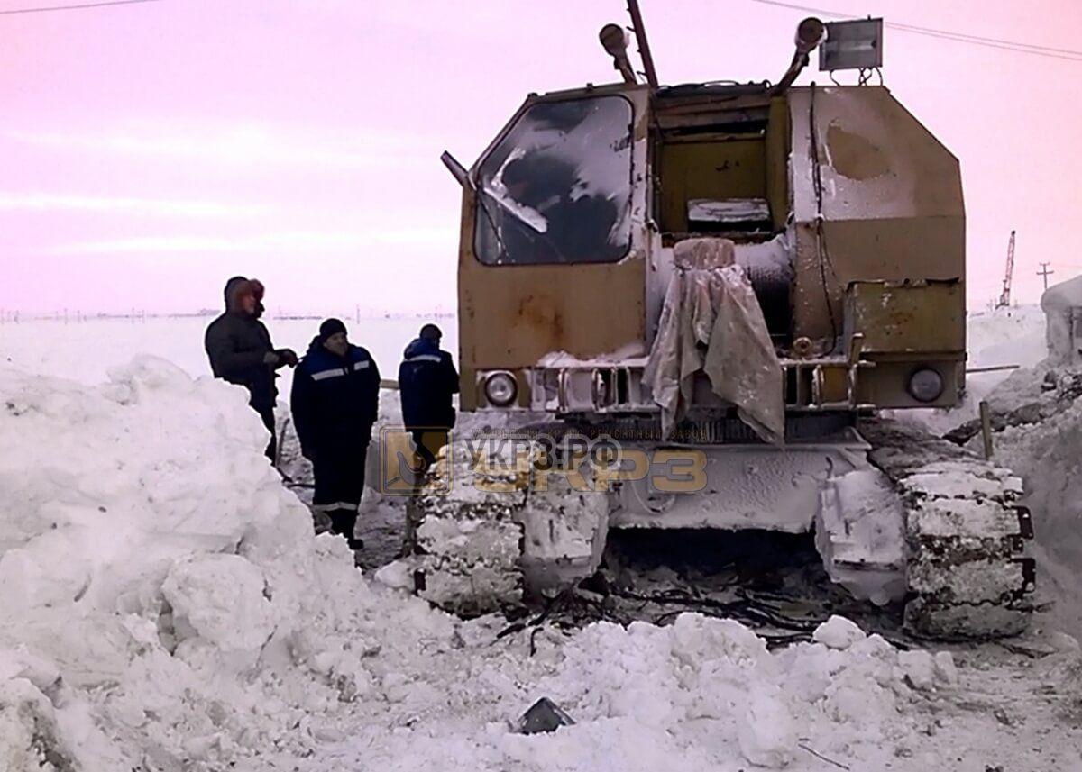 Срочный выездной ремонт РДК 250 в тяжелых условиях заполярного круга Строительство газопровода Бованенково-Ухта ЯНАО
