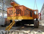 б/у восстановленный гусеничный кран ДЭК-631 в Новом Уренгое