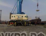 Перевозка б/у восстановленного гусеничного крана РДК с УКРЗ (Челябинск) в порт Ванино (Хабаровкий Край)